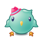 tweecha_logo_hat_simple_512